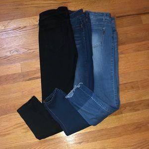 Women's- size 8 jeans bundle.